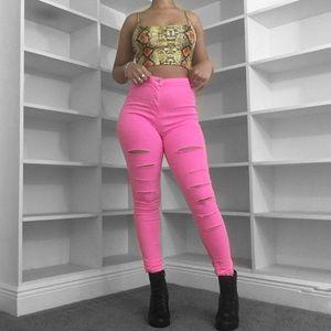 Denim - FLASH SALE 🌸 Neon Barbie Jeans